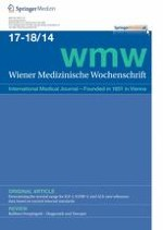Wiener Medizinische Wochenschrift 17-18/2014