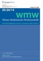 Wiener Medizinische Wochenschrift 23-24/2014