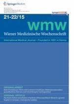 Wiener Medizinische Wochenschrift 21-22/2015