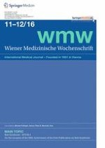 Wiener Medizinische Wochenschrift 11-12/2016