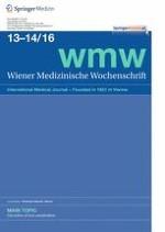 Wiener Medizinische Wochenschrift 13-14/2016