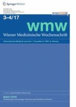Wiener Medizinische Wochenschrift 3-4/2017