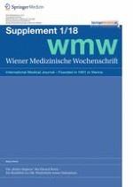 Wiener Medizinische Wochenschrift 1/2018