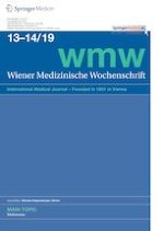 Wiener Medizinische Wochenschrift 13-14/2019