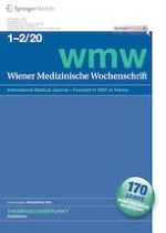 Wiener Medizinische Wochenschrift 1-2/2020