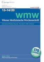 Wiener Medizinische Wochenschrift 13-14/2020