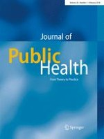 Journal of Public Health 1/2018