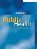 Journal of Public Health 1/2019