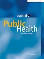 Journal of Public Health 4/2019