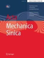 Acta Mechanica Sinica 5/2007