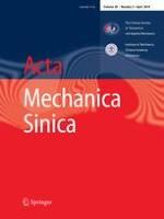 Acta Mechanica Sinica 2/2014