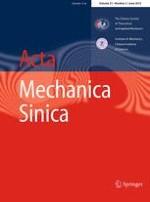 Acta Mechanica Sinica 3/2015