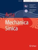 Acta Mechanica Sinica 1/2019