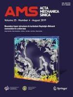 Acta Mechanica Sinica 4/2019