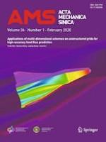 Acta Mechanica Sinica 1/2020