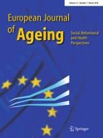 European Journal of Ageing 1/2018
