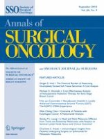 Annals of Surgical Oncology 9/2013