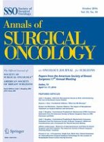 Annals of Surgical Oncology 10/2016