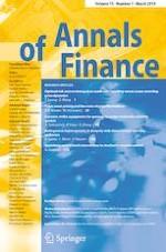 Annals of Finance 1/2019