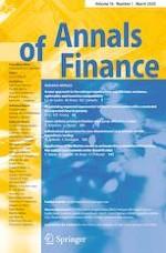 Annals of Finance 1/2020