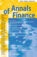 Annals of Finance 1/2011