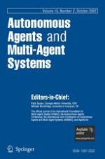 Autonomous Agents and Multi-Agent Systems 2/2007
