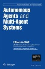 Autonomous Agents and Multi-Agent Systems 3/2009