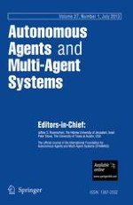 Autonomous Agents and Multi-Agent Systems 1/2013
