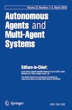 Autonomous Agents and Multi-Agent Systems 1-2/2019