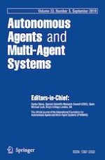 Autonomous Agents and Multi-Agent Systems 5/2019
