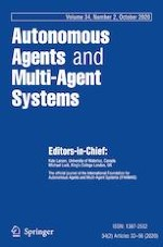 Autonomous Agents and Multi-Agent Systems 2/2020