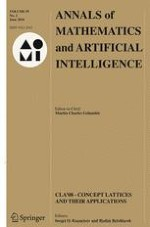 Annals of Mathematics and Artificial Intelligence 2/2010