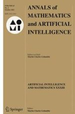 Annals of Mathematics and Artificial Intelligence 2/2011