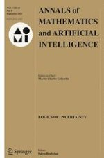 Annals of Mathematics and Artificial Intelligence 1/2013
