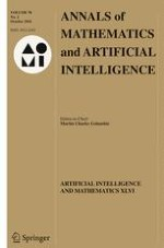 Annals of Mathematics and Artificial Intelligence 2/2016