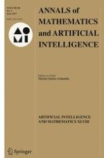 Annals of Mathematics and Artificial Intelligence 2/2017