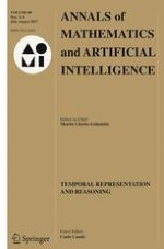 Annals of Mathematics and Artificial Intelligence 3-4/2017
