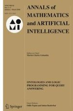 Annals of Mathematics and Artificial Intelligence 1-3/2018