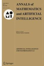 Annals of Mathematics and Artificial Intelligence 2/2018