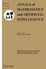 Annals of Mathematics and Artificial Intelligence 1/2019