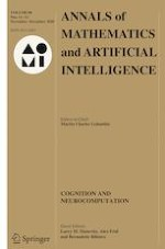 Annals of Mathematics and Artificial Intelligence 11-12/2020