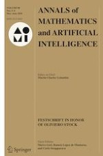 Annals of Mathematics and Artificial Intelligence 5-6/2020