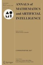 Annals of Mathematics and Artificial Intelligence 1-2/2021