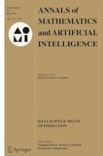 Annals of Mathematics and Artificial Intelligence 7/2021