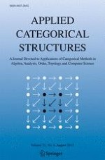 Applied Categorical Structures 1/2001