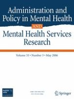 Administration and Policy in Mental Health and Mental Health Services Research 3/2006