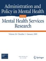 Administration and Policy in Mental Health and Mental Health Services Research 1/2009