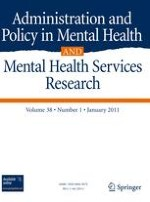Administration and Policy in Mental Health and Mental Health Services Research 1/2011
