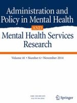 Administration and Policy in Mental Health and Mental Health Services Research 6/2014