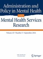 Administration and Policy in Mental Health and Mental Health Services Research 5/2016